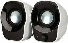Logitech Z120 Compact PC Stereo Speakers, 3.5mm Audio Input, USB Powered