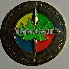 Geocoin Allegheny GeoTrail - Warren County Pennsylvania