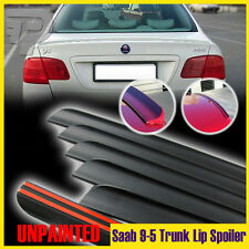 Unpainted Saab 1st 9-5 2.3t Sedan Boot Trunk Lip Wing Spoiler 2006 2009