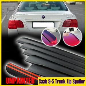 2006-2009 Fit For SAAB 1st 9-5 2.3t Sedan Boot Trunk Lip Wing Spoiler Unpainted