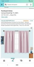Nicetown Blackout Curtains for Girls Room - Nursery Essential Thermal Insulated