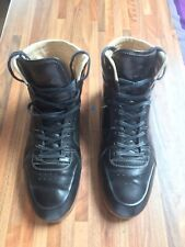Gucci Aldous Sporting Lace-Up Boot. Black Size 6G