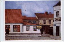 MEMEL Memelland Polen Künstlerkarte NOLDEN Partie i.d. Grossen Wasserstrasse