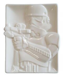 Star Wars STORMTROOPER Ceramic Tray Kitchen Accessories COME TO THE DARK SIDE