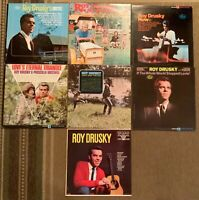 Roy Drusky-Country-Lot of 7 Vinyl Record Albums - LP