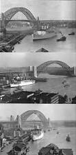 3 Different views of STRATHNAVER 1934 Circular Quay  Modern Digital Postcard