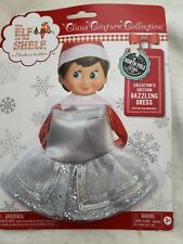 Elf on the Shelf Claus Couture Collection Dazzling Silver Dress for Girl Elf