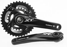 SHIMANO DEORE XT MTB Bike Crankset FC-M785 38/24t 170mm HollowTech II 10s NEW