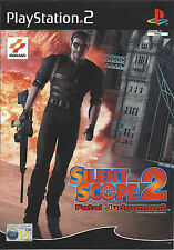 SILENT SCOPE 2 FATAL JUDGEMENT for Playstation 2 PS2 - with box & manual - PAL