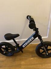 STRIDER 12 Balance Bike Black