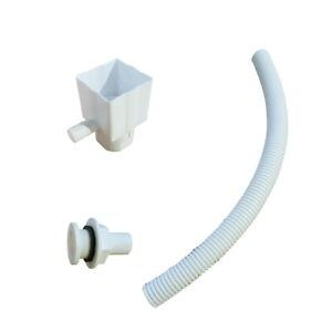 Standard Rain Diverter Kit - White - Free UK Delivery