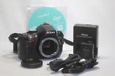 Nikon D D5100 16.2MP Digital SLR Camera Black Body Only