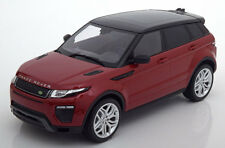 Kyosho 2016 Range Rover Evoque Dynamic Lux Red Metallic/Black in 1/18 Scale New!