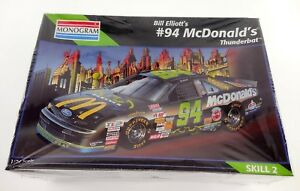 BRAND NEW Monogram Bill Elliot's #94 McDonald's Thunder Bat 1995 Model Kit