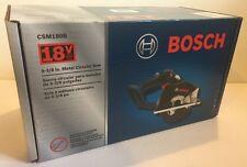 "NEW BOSCH CSM180B 18V Cordless Li-Ion 5-3/8"" Metal Cutting Circular Saw"