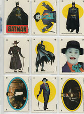 Batman Movie Series 2 - Lot Of 14 Different Sticker Chase Cards EX Topps 1989