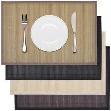 6x Platzdeckchen Bambus Platzdecke Tischset Platzset Tischmatte Platzmatten