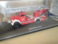 268O Schuco 03071 Opel Blitz S 3t Pompiers Grande Echelle 1:43 Neuf + Boite