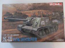 Dragon DML 1:35 WWII JSU-122 Tank Destroyer Plastic Model Kit #6013