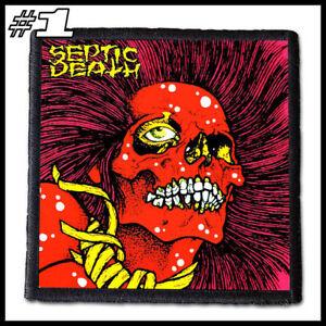 SEPTIC DEATH --- Patch / Aufnäher --- Various Designs