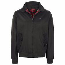 Merc London Mens Black Classic Harrington Jacket 2xl