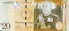 TONGA 20 pa'anga - issue 2008 - 2009 - UNC