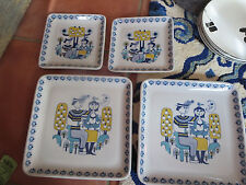 4 Mosa Maastricht Holland plates