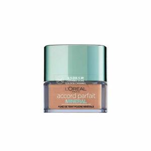 Poudre Accord Parfait Mineral 6.5.D / 6.5.W Caramel Doré L'Oréal