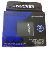 Kicker 46Kisloc2 2-Channel Line Output Converter with Remote Turn-On Wire