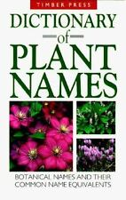 Dictionary of Plant Names: Botanical Names and Their Common Name Equivalents