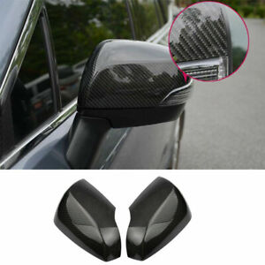 Carbon fiber rear view mirror cover For Subaru forester XV outback legacy 13-18