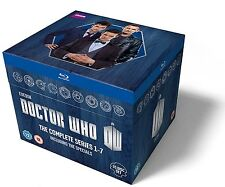 Doctor Who Box Set Series 1-7 Plus Specials New Sealed Blu-Ray Region B (Not US)