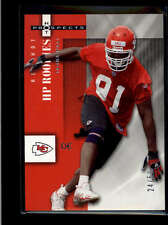 TAMBA HALI 2006 HOT PROSPECTS #107 RARE RED HOT ROOKIE RC #24/50 AB8359
