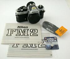 NIKON FM2 N SLR body Gehäuse mechanic Titanium shutter Verschluss SERVICED top!!