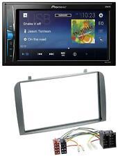 Pioneer 2DIN MP3 USB AUX Autoradio für Alfa Romeo GT 147 00-10 anthrazit