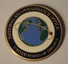 National Reconnaissance Office Deputy Director Military Support Challenge Coin