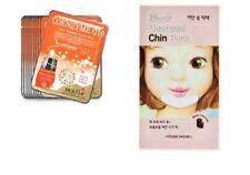 1 x Etude House Black Charcoal Chin Pack + 2 x Coenzyme Q10 Facial Mask Sheet