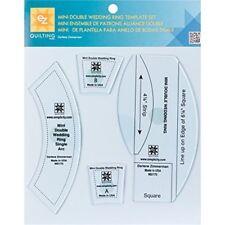 Ez Quilting Mini Double Wedding Ring Acrylic Template Set