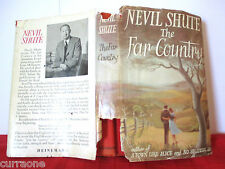 Nevil Shute THE FAR COUNTRY 1952 hardcover with jacket First Australian edition