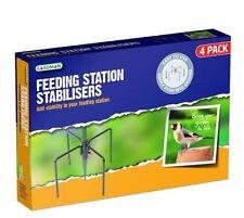 Gardman jardin sauvage oiseaux se nourrissant de pointes de pieds stabilisateurs Station noir A04387