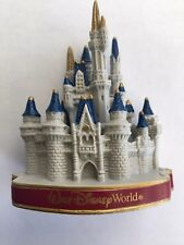 Walt Disney Parks Cinderella Castle 3D Magnet Magic Kingdom NEW