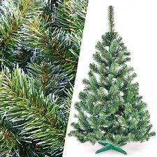 Weihnachtsbaum künstlicher Christbaum Tannenbaum Kunstbaum 150 cm grün-weiß