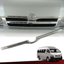 Chrome Grille Grill Line Cover Trim ABS For Toyota Hiace Commuter 2005-On
