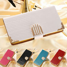 Unbranded/Generic Synthetic Leather Plain Mobile Phone Cases, Covers & Skins with Kickstand