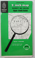 1969 OS Ordnance Survey Second Series 1:25000 Map Upper Strath Oykell NC 20/30
