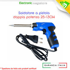 Saldatore Rapido A Pistola Doppia Potenza 25 - 130W - MKC723
