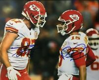 Patrick Mahomes / Travis Kelce CHIEFS Signed Autographed 8 x 10 Photo REPRINT