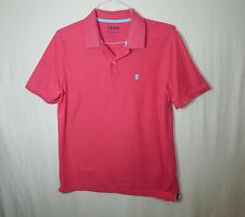 IZOD Advantage Performance Golf Short Sleeve Polo Shirt MEDIUM M Mens Clothing