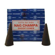 Nag Champa - Satya Sai Baba Incense Dhoop Cones 2 Boxes