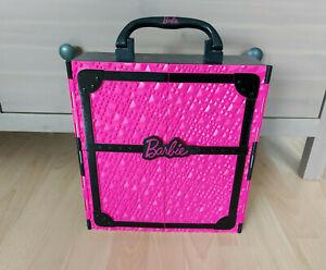 Barbie Puppe Mattel Möbel Zubehör Kleid Kleidung Transport Koffer Kleiderschrank